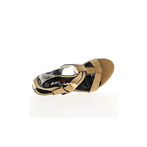 Camel tacco sandali di 14cm e 4cm vassoio