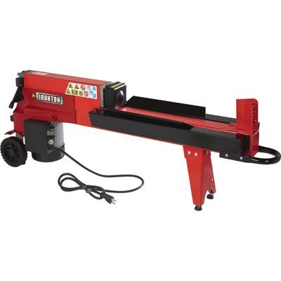 Ironton Horizontal Electric Log Splitter - 5-Ton