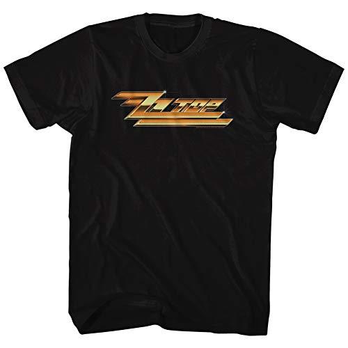 American Classics ZZ Top Rock Band Music Group Gold Logo Adult T-Shirt Tee 4XT