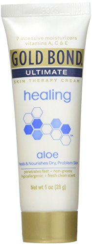 Gold Bond Ultimate Healing Skin Therapy Lotion Aloe 1 Oz (4 Pack)