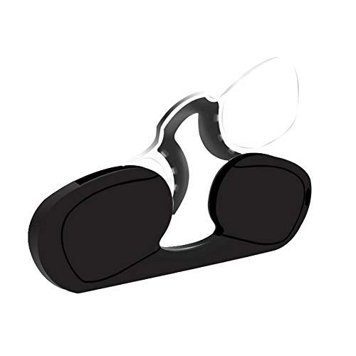2019 New Armless Reading Glasses,Go Everywhere Reading Glasses (Black, 1.5)