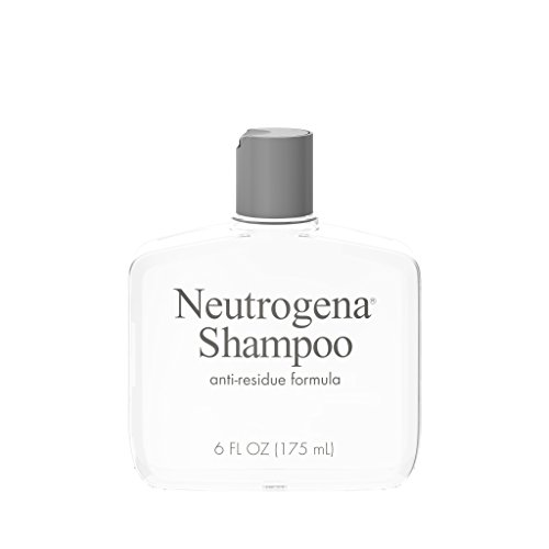 Neutrogena Anti-Residue Shampoo, Gentle Non-Irritating Clarifying Shampoo to Remove Hair Build-Up & Residue, 6 fl. oz (Best Shampoo For Product Build Up)