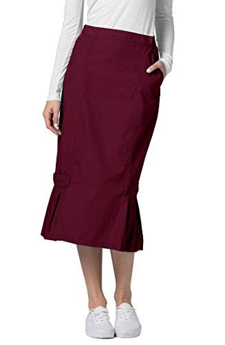 Adar Universal Tabbed Pleat Panel Scrub Skirt