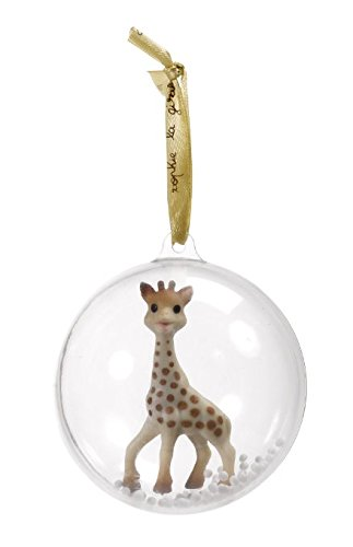 Christmas Gifts, Sophie The Giraffe Baby's First Christmas Ornament Ball Christmas Giraffe Ornament