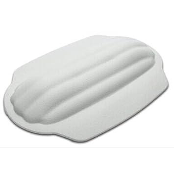 LIUSHU Cojín de Baño del Hotel Almohada Impermeable a Menudo Masaje Almohada con Ventosa para Todos los usos Almohada, Blanco: Amazon.es: Hogar