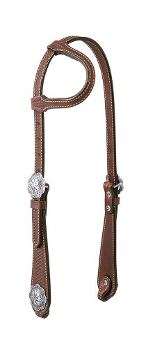 Weaver Leather Basin Cowboy One Ear Headstall