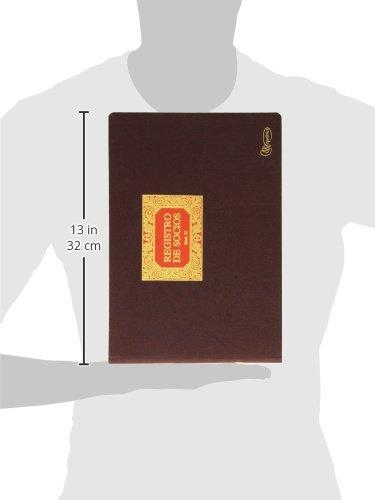 Libro socios folio apaisado Miquel Rius 8422593050132