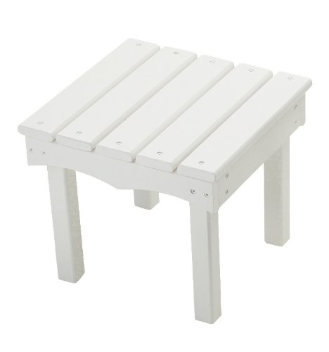 Little Colorado Child's Adirondack End Table- White by Little Colorado