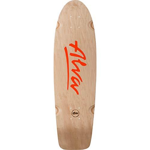 Alva Skateboards 1978 Lost Model Orange Skateboard Deck - 8.5