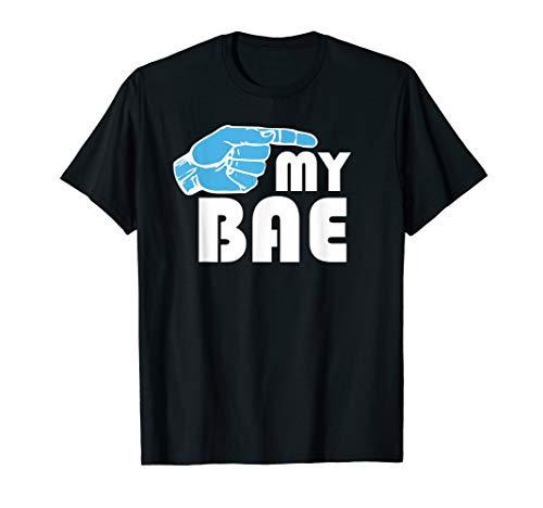 Matching Couples Shirt MY BAE My Boo Valentine's Honeymoon