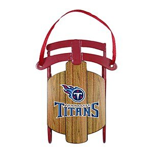 NFL Titans Sled Ornament