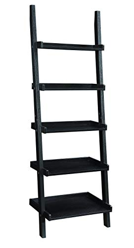 Bedford Ladder - Coaster Home Furnishings 800338 Colella 5-shelf Ladder Bookcase Cappuccino