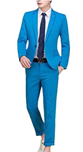 Business manica Suit Casual lunga Blazer Giacche Jacket Fit Elegant Confortevole Battercake 4 Men Slim Color Tuxedo 0qwT7z0X4x