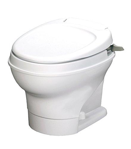 Thetford Aqua-Magic V RV Toilet Hand Flush/High Profile/White - 31646