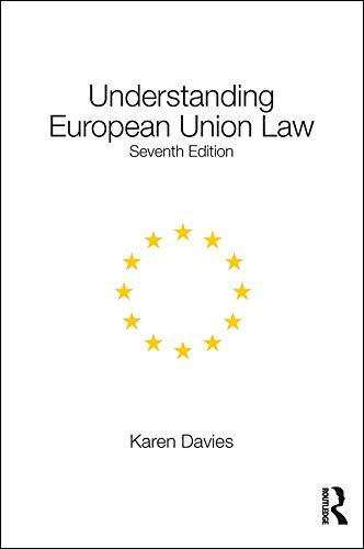 Understanding European Union Law  English Edition