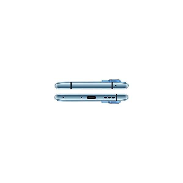 """OPPO Reno4 Pro Smartphone 5G, 172g, Display 6.5"""" FHD+ AMOLED, 3 Fotocamere 48MP, RAM 12GB + ROM 256GB non Espandibile, Batteria 4000mAh, Ricarica Super, Dual Sim, [Versione Italiana], Galactic Blue 7"""