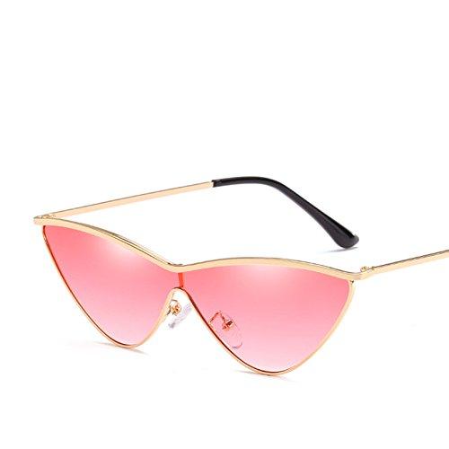 C3 Sol De Pequeño KLXEB Moda Mujer Femenina Gafas Metálico Color Triángulo De C9 Sol De De Gafas Bastidor Gafas La Uv400 R0Rxq
