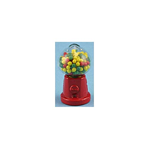 International Miniatures Dollhouse Miniature Tabletop Gumball Machine