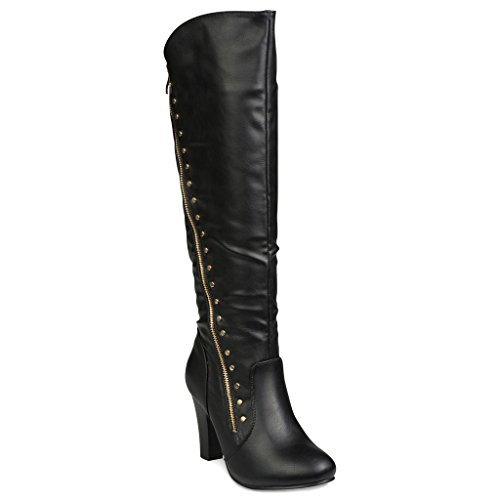 twisted-womens-victoria-high-heel-knee-high-boots-black-size-6
