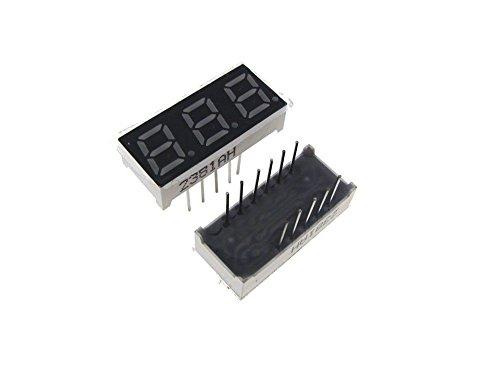 3 digit 7 segment display - 5