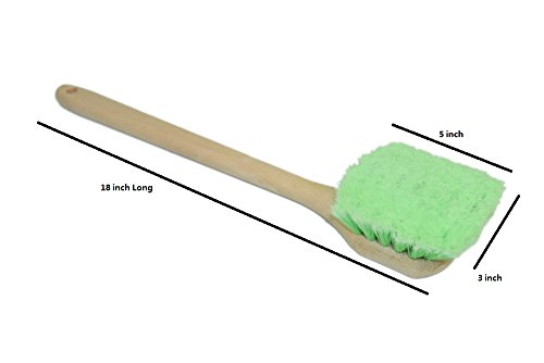 carcarez-18-inch-auto-cleaning-brushes-car-wash-brush-with-long-handle-soft-for-vehicle-suv-green
