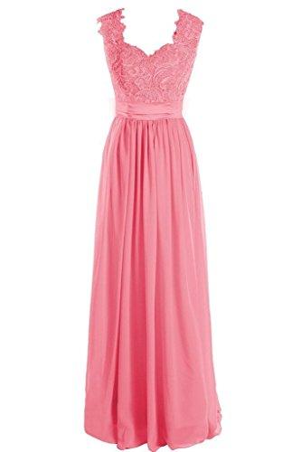 Damen Korallenrot A Fanciest Kleid Linie dqA8w4Ig