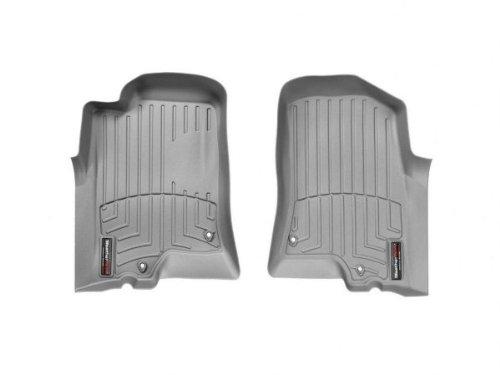 WeatherTech Custom Fit Front FloorLiner for Hummer H3, Grey