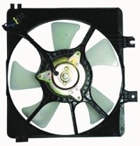 (Go-Parts ª OE Replacement for 1998-1999 Mazda 626 Radiator Cooling Fan Assembly (Auxiliary Cooling) FSD7-15-035A MA3115108)