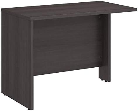 bbf Bush Business Studio C 42 Desk Return in Storm Gray