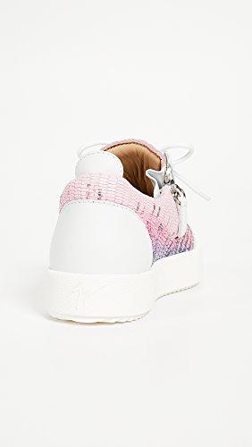 Giuseppe Zanotti Mujeres Zip Side Sneakers Multi