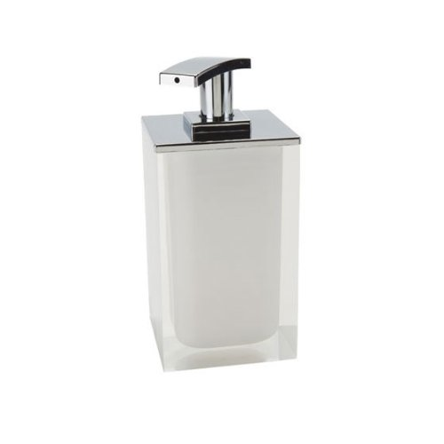 Soap Dispenser Made From Resin, White (Nameeks Soap Dispenser)