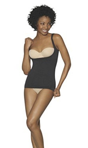 (Hanes Women's Seamless Torset Top (Medium, Black))