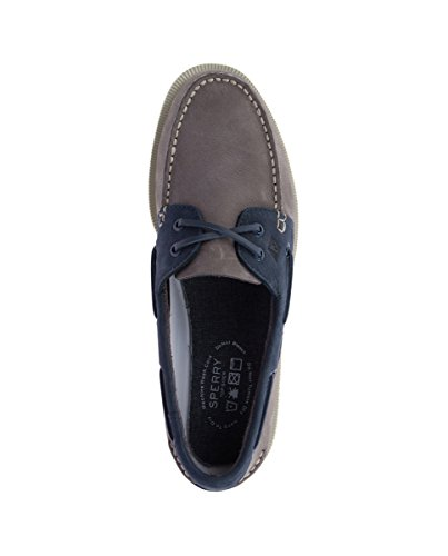 Sperry A/O 2-Eye Washable - Náuticos de Hombre EN Color Gris