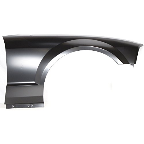 Fender for Ford Mustang 05-09 RH W/Wheel Opening Molding Holes GT Model Front Right Side