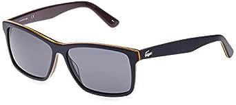 LACOSTE Men's L705SP 421 57 Sunglasses, Dark Blue