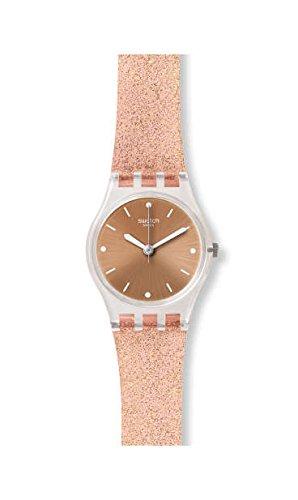 Swatch Reloj Analógico para Mujer de Cuarzo con Correa en Silicona LK354D: Amazon.es: Relojes