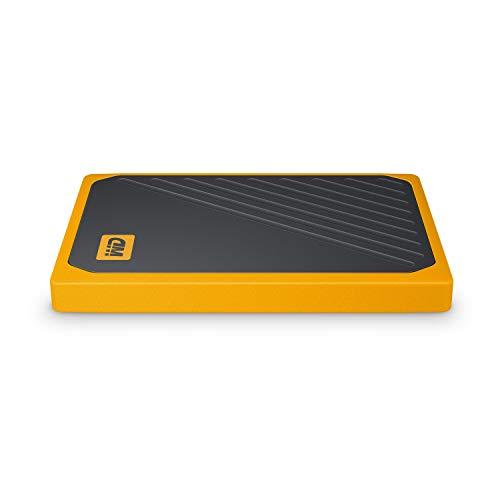 WD 500GB My Passport Go SSD Amber Portable External Storage, USB 3.0 - WDBMCG5000AYT-WESN by Western Digital (Image #4)
