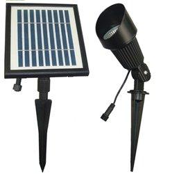 Solar Flag Pole and Spot Light