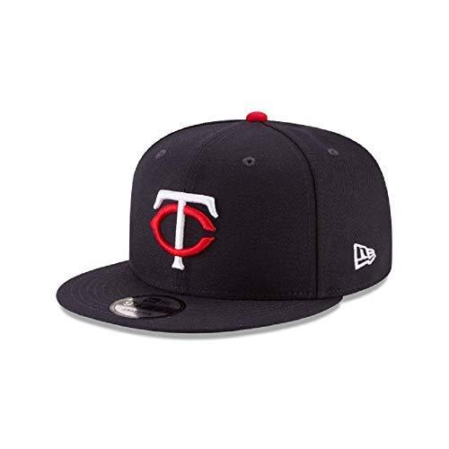 - New Era Minnesota Twins MLB Basic Snapback Original Team Color Adjustable 950 Cap Navy Blue