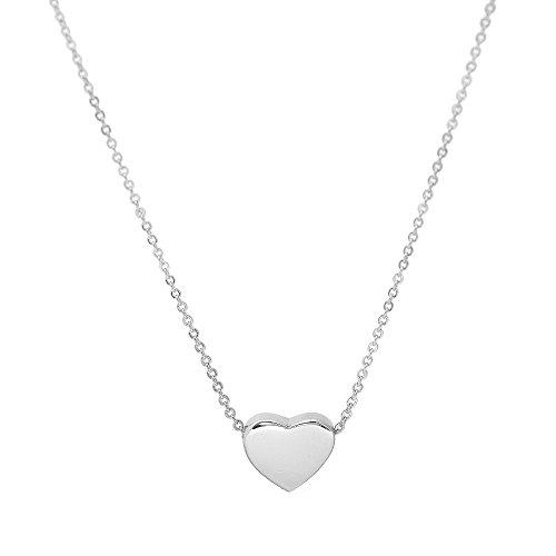 SpinningDaisy Spinningdaisy Simple Heart Necklace