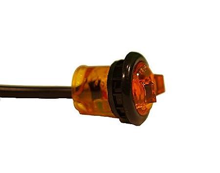 Kaper II L14-0092A Amber LED Marker//Clearance Light