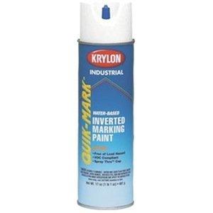Krylon Inverted Marking Paint - Krylon Inverted Marking Paint White 12/BX #S03901