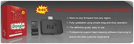Portable R4s Dongle Payloads Injector with Battery for NS Switch Game Accessories,USB-C Dongle,for Most of NSP Games and XCI Games,Free Switch Games Dongle Adapter Short Connector