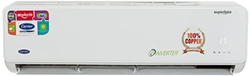 Carrier 1 Ton 4 Star Inverter Split AC (CACI12SU4I3, White)