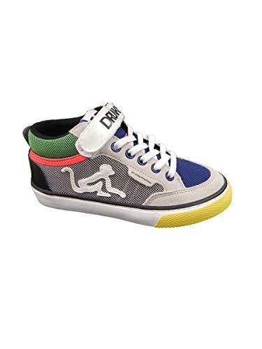 Bambino Drunknmunky Mid Sneaker Boston A Collo Multicolor Alto xq6YUwCO