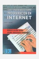 Cuestionario básico sobre programación en internet Paperback