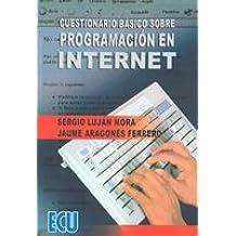 Cuestionario básico sobre programación en internet Mar 21, 2005