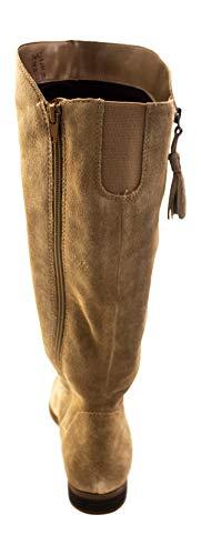 Oatmeal Jinnie Women's Suede Tall Naturalizer Boot T7U5w