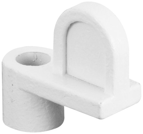 Prime-Line Products L 5611 Window Screen Clip, 3/16-Inch, Diecast/White, 12-Pack