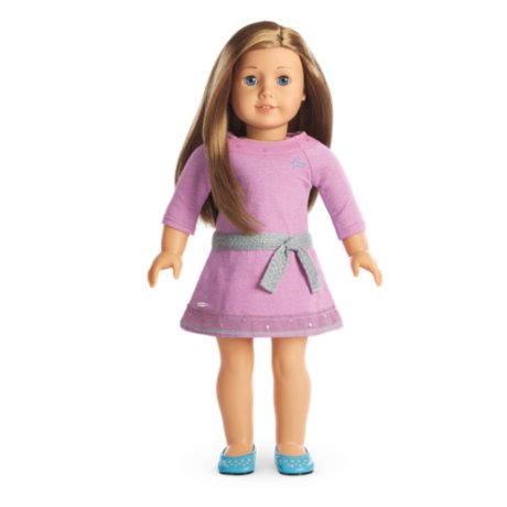 American Girl - Truly Me Doll with Light skin, Carmel hair, Blue eyes - DN39 (Doll Light Skin)